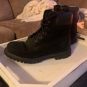 Timberland black waterproof boot